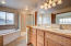 Large Master Bath leads to a great large walk in closet as well