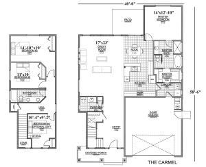 Carmel Floor Plan