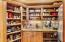Pantry of all pantries w/granite counters & TONS of storage right off the kitchen, you'll love being able to store and hide!