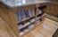 Bookshelf Built Into Kitchen Cabinet