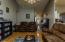 Notice the beautiful laminate flooring
