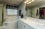 Dual sinks at vanity