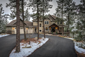 Private drive with ample parking leads you to your private mountain getaway without having to leave a paved road.