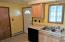 #506 Kitchen with Dishwasher, window looking into back yard