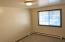 #506 1st bedroom, over looks back yard