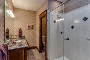 Shower and granite counter for Master Suite 4