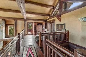 Private sanctuary space on the upper level for you with a private reading loft and landing. Guests are all on the lower level
