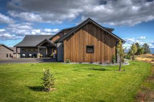 Barn wood exterior accents