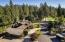 Corner lot with circle drive with beautiful views of the Hayden Lake Golf course