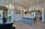 Open contemporary designer kitchen