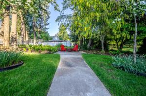 Sitting Area in Backyard