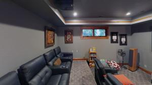 With a state-of-the-art system, 4k projector, $250k in furniture & upgraded/installed equipment.