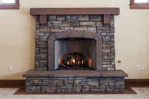 Master Gas Fireplace-remote
