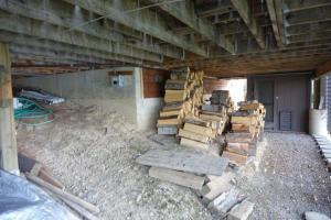 Storage under home