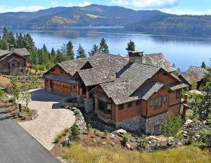 Located at prestigious Black Rock in Coeur d'Alene, Idaho.