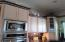 Crown Molding & Double Ovens Undercounter Lighting