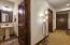 and hallway to garage