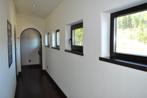 Upstairs to guest quarters