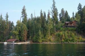 Property from Hayden Lake