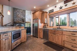 Abundant Cabinetry and Work Area
