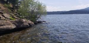 East shoreline