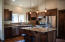 Builder example of kitchen finished