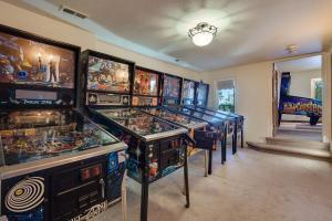 Mid Level Pinball Craft room