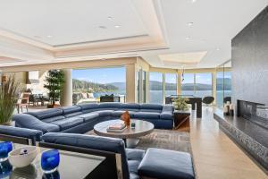 Living Room Lake Views