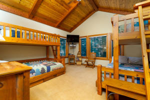 1 of 2 Upstairs Bunk Rooms