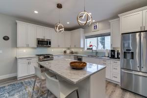 young kitchen island