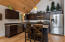 Gourmet Kitchen with SS Frigidaire Gallery Appliances.