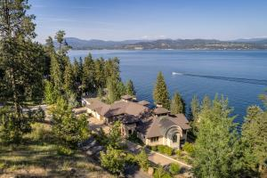 Enjoy the mountain and Coeur d Alene lake living lifestyle in North Idaho