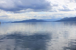 From your community beach take in these amazing views of Lake Pend Oreille