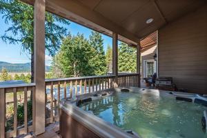 Hot Tub on Main Level Deck