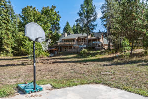 Back of Home from Basketball Court