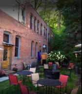 The Fainting Goat outdoor seating Wallac