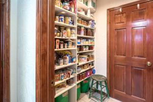 huge walkin pantry