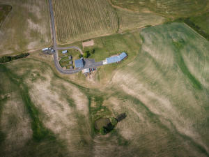 --58-Aerial showig house and outbuilding