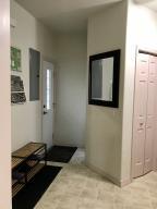 Storage Hall to Side Door