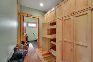 Pull Out Cabinets in Pantry