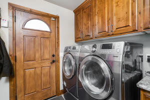 Laundry Room With Half Bath