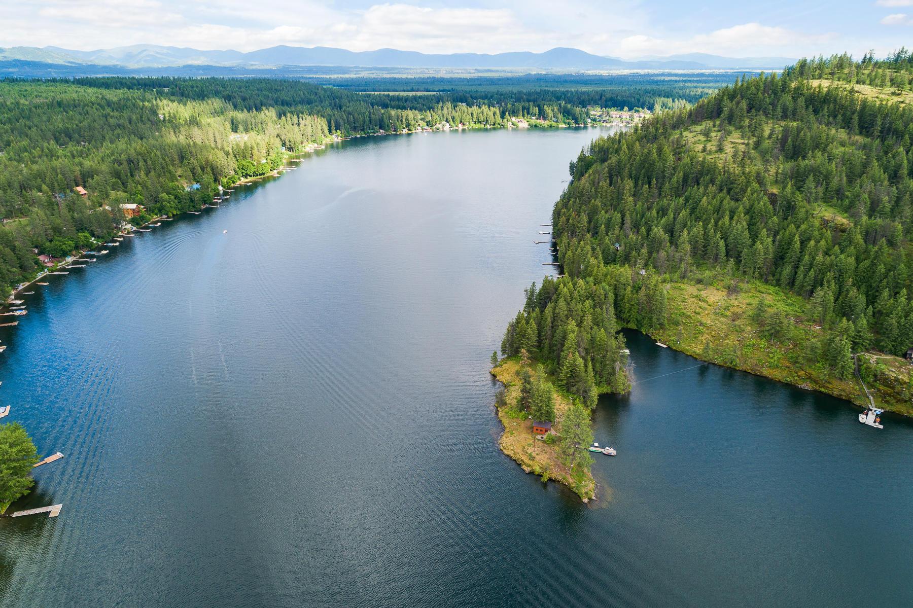 photo of   Lower Twin Lakes  Rathdrum Idaho 83858