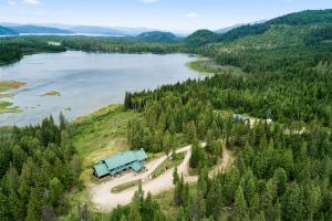 Chase Lake is serene
