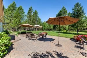 Large, spacious patio to enjoy those summer days with friends and family...invite a crowd!