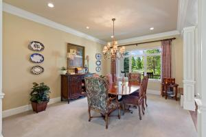 Formal dining area right inside the front door with room for 20!