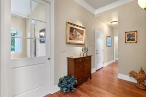 Leads to mudroom & laundry room