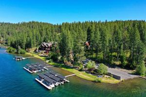 Mica View Estates private beach club with gated entry and personal covered boat slip.