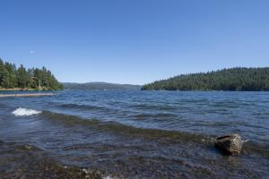 The beauty of Mica Bay and Lake Coeur d'Alene are a perfect backdrop for creating memories.