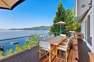 Outside Dining Deck With Views
