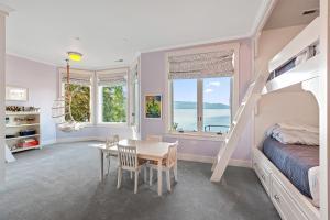 Lake Blue Bunk Room Suite